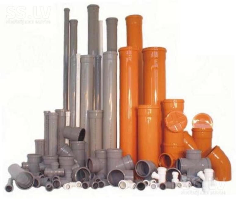канализационные трубы киев, комплектующие
